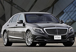 Mercedes S500 Plug-in-Hybrid - Frontansicht