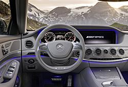 Mercedes S 63 AMG - Cockpit