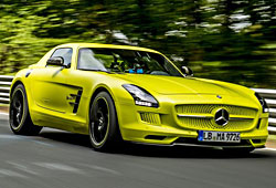 Mercedes SLS AMG Coupe Electric Drive - Seitenansicht