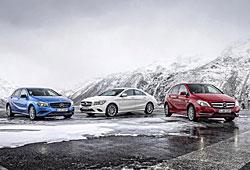 Mercedes A-, B- und CLA