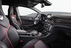 Mercedes GLA 45 AMG - Innenraum