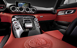 Mercedes AMG GT - Interieur