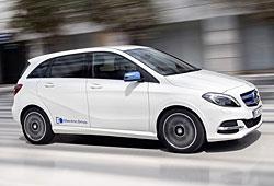 Mercedes B-Klasse Electric Drive - Seitenansicht