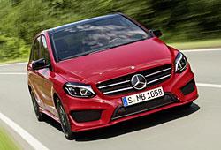 Mercedes B-Klasse - Facelift