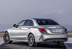 Mercedes C-Klasse - Heckansicht