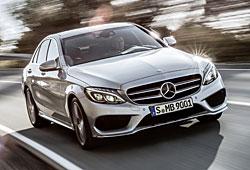 Mercedes C-Klasse - Frontansicht