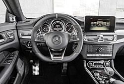 Mercedes CLS - Armaturenbrett