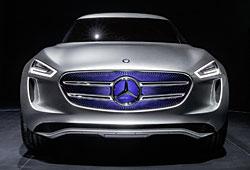 Mercedes G-Code - Frontalansicht