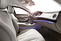 Mercedes S 600 Guard - Interieur mit Ambientebeleuchtung