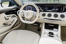 Mercedes S 65 AMG Coupé - Interieur