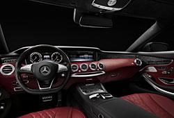 Mercedes S Coupé - Innenraum
