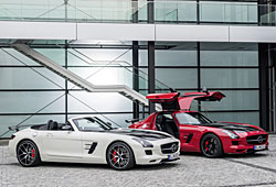 Mercedes SLS AMG GT Final Edition - Roadster und Coupé