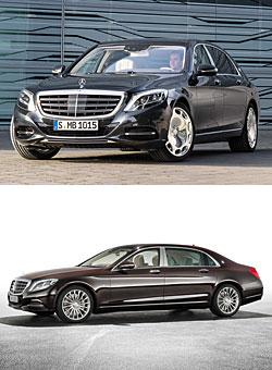 Mercedes-Maybach S-Klasse - Außenansichten