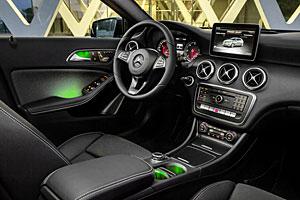 Mercedes A-Klasse - Innenraum