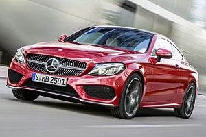 Mercedes C-Klasse Coupé - Frontansicht
