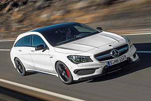 Mercedes-AMG CLA 45 4Matic Shooting Brake