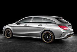 Mercedes CLA 250 Shooting Brake mit Allradantrieb