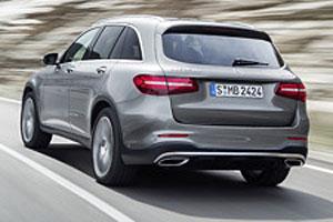 Mercedes GLC - Heckansicht