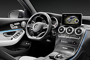 Mercedes GLC -  Cockpit