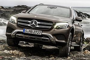 Mercedes GLC - Frontansicht