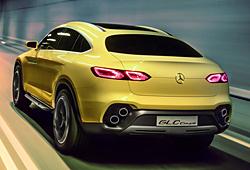 Mercedes GLC Coupé Concept - Heckansicht