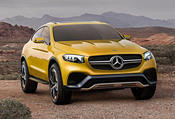 Mercedes GLC Coupé Concept - Frontansicht