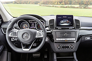 Mercedes GLE 450 AMG Matic - Cockpit