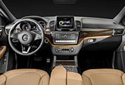 Mercedes GLE - Interieur