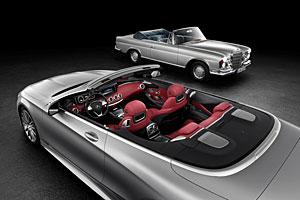 Mercedes S-Klasse Cabriolet - Gestern und heute