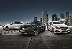 Mercedes Streetstyle - Sondermodelle: A-Klasse, CLA Coupé und GLA