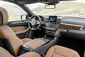 Mercedes GLS - Innenansicht
