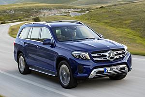 Mercedes GLS - Außenansicht