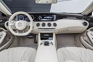 Mercedes-AMG S65 Cabriolet - Cockpit