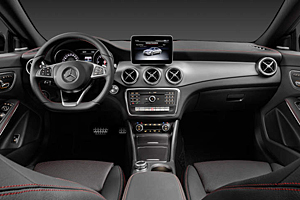 Mercedes CLA Coupé - Cockpit
