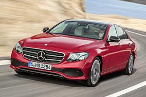 Mercedes E-Klasse - Frontansicht