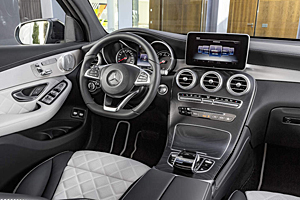 Mercedes GLC Coupé - Cockpit