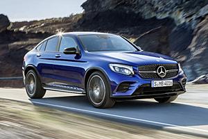 Mercedes GLC Coupé - Frontansicht