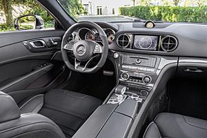 Mercedes SL - Innenraum