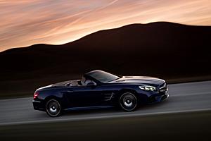 Mercedes SL - Seitenansicht