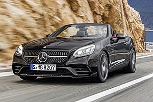 Mercedes SLC - Frontansicht