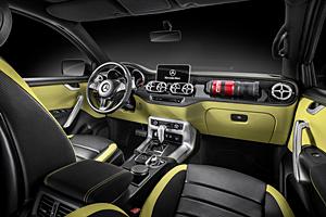 Mercedes X-Class Concept - Interieur