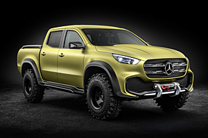 Mercedes X-Class Concept Powerfull Adventurer