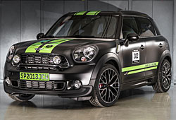 Mini John Cooper Works Countryman All4 Dakar Winner 2013 - Frontansicht