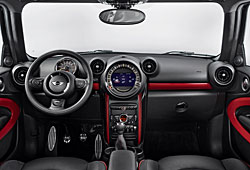 Mini John Cooper Works Paceman - Cockpit
