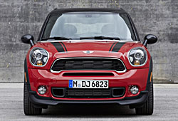 Mini Cooper S Paceman - Frontansicht