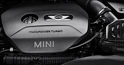 Vierzylinder-Benzinmotor für künftigen Mini