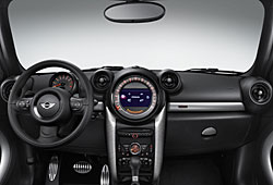 Mini Countryman Park Lane - Cockpit