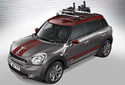 Mini Countryman Park Lane mit Sport Stripes in Oak Red