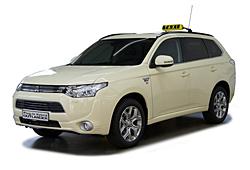 Mitsubishi Outlander Plug-in-Hybrid als Taxiversion