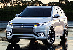 Mitsubishi Outlander PHEV Concept-S - Frontansicht